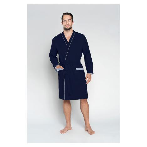 Pánsky župan Italian Fashion Gabriel Tmavomodrá