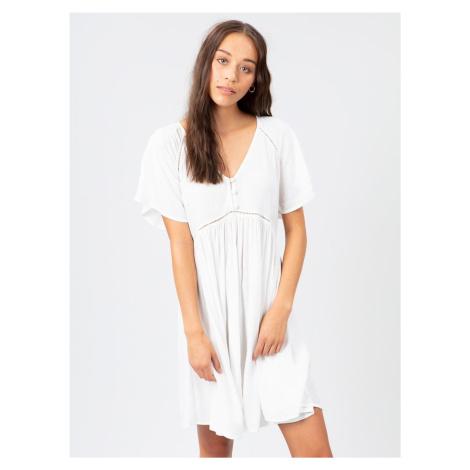 Biele šaty s gombíkmi Rip Curl
