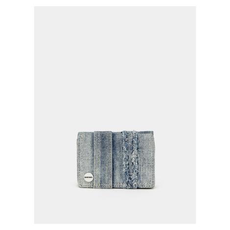 Modrá dámska džínsová peňaženka Diesel
