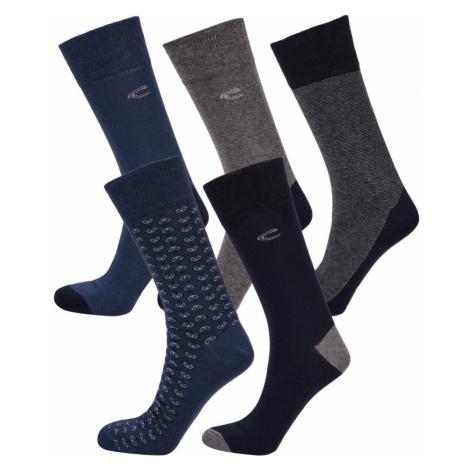 Ponožky Camel Active Camel Men Socks 5Er Stripes Indigo 39-42