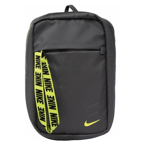 Nike Sportswear Taška cez rameno 'Advance'  sivá / žltá