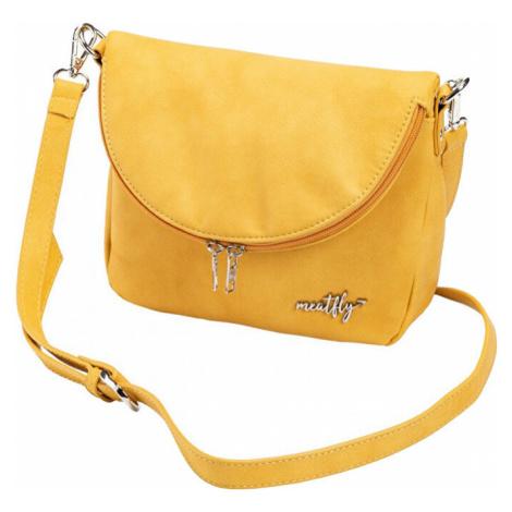 Meatfly Dámska crossbody kabelka Shea C - Sunny Yellow
