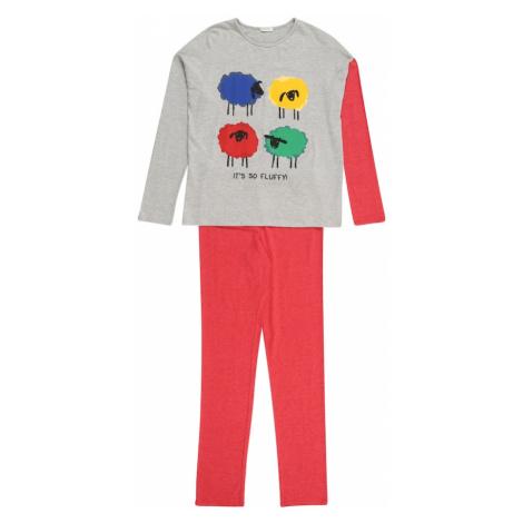 UNITED COLORS OF BENETTON Pyžamo  sivá / melónová / modrá / žltá / zmiešané farby