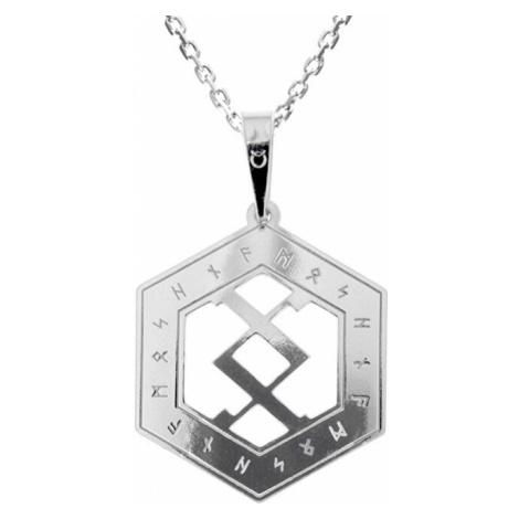 Praqia Pánsky strieborný náhrdelník Happ KO5203_MO060_50_RH (retiazka, prívesok)