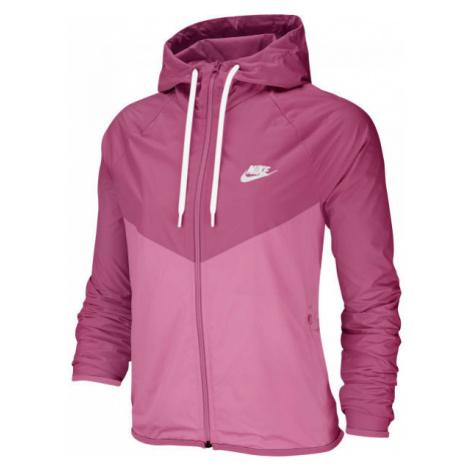 Nike NSW WR JKT ružová - Dámska bunda