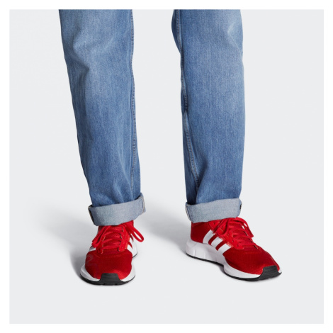 ADIDAS ORIGINALS Nízke tenisky 'Swift Run X'  červená / biela