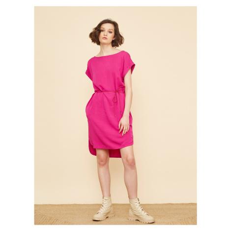 Šaty na denné nosenie pre ženy ZOOT - ružová