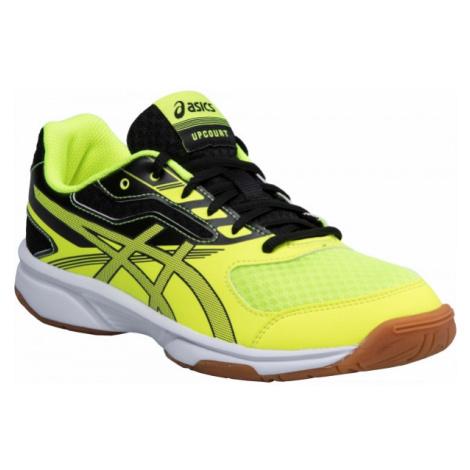 Asics UPCOURT 2 GS žltá - Detská halová obuv