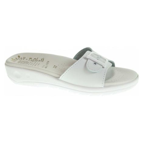 Dámské pantofle 5-20105 bílé 5-20105 bílá Rejnok