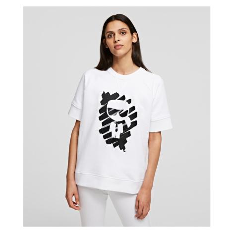 Mikina Karl Lagerfeld S/Slv Ikonik Graffiti Sweat
