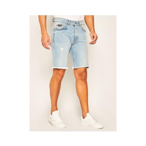 Versace Jeans Couture Džínsové šortky A4GVB17I Modrá Regular Fit
