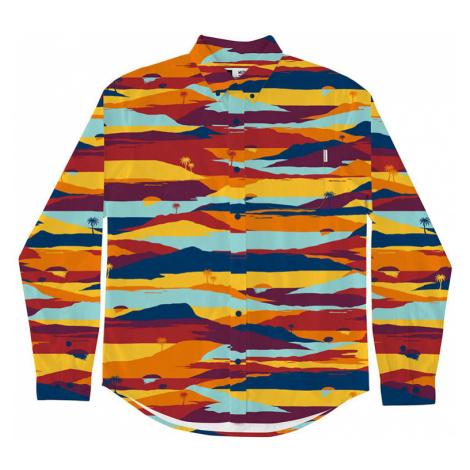 Dedicated Shirt Varberg Sunset Orange-M farebné 16787-M