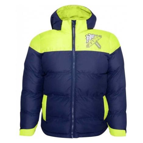 Kappa LOGO ZITRAX tmavo modrá - Detská zimná bunda