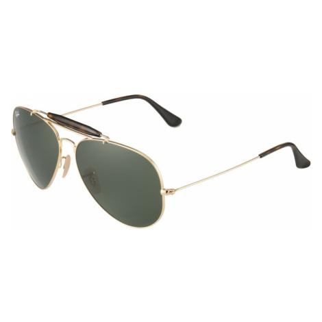 Ray-Ban Slnečné okuliare  tmavozelená