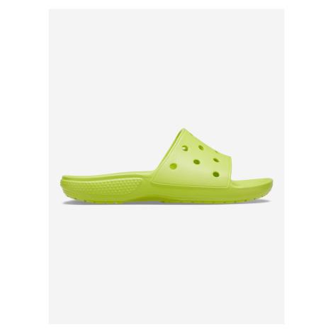 Classic Pantofle Crocs Žltá