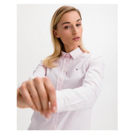 Gant Stretch Oxford Banker Košeľa Ružová