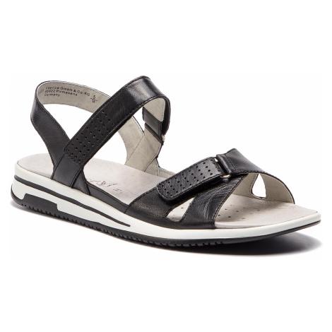 Sandále CAPRICE - 9-28600-22 Black Nappa 022