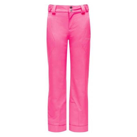 Spyder OLYMPIA PANT ružová - Dievčenské nohavice