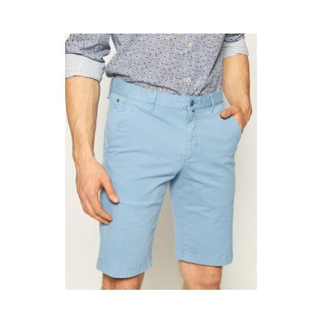 Marc O'Polo Bavlnené šortky 023 0384 15000 Modrá Regular Fit