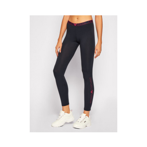 Emporio Armani Underwear Pyžamové nohavice 163620 0A317 00637 Tmavomodrá