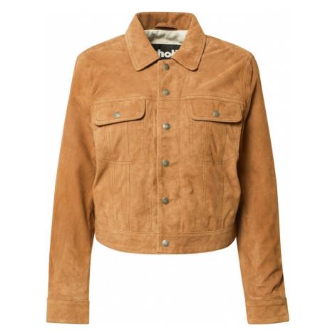 Schott NYC Prechodná bunda  farba ťavej srsti