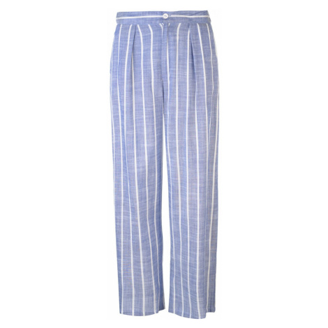 Only Piego Wide Trousers Med Blue Dnm
