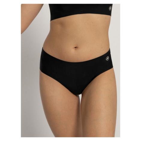 Čierne bezšvové nohavičky Dorina Airlite