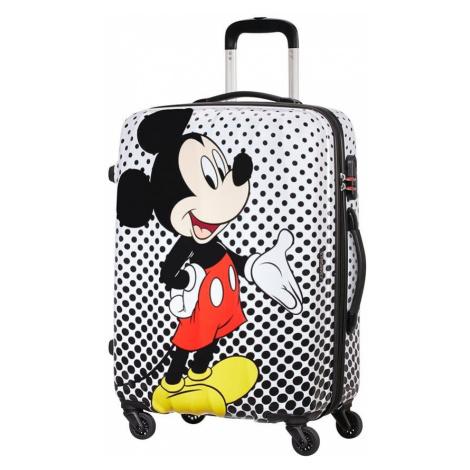 American Tourister Cestovný kufor Disney Legends Spinner 62,5 l - Mickey Mouse Polka Dot
