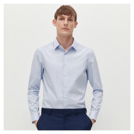 Reserved - Košeľa slim fit s mikrovzorom - Modrá