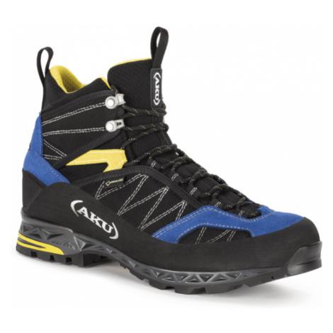 Pánske topánky AKU Tengu Lite GTX čierno, modro, žlté