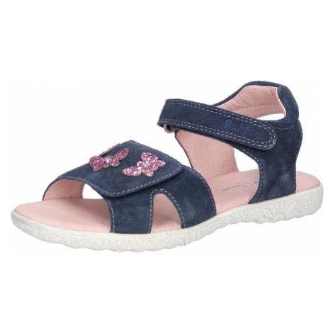 RICHTER Sandále  tmavomodrá / ružová