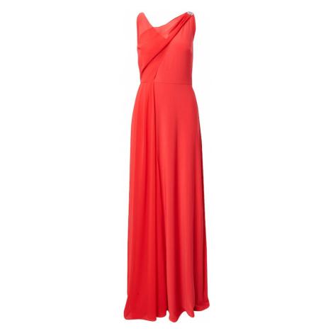 Lauren Ralph Lauren Večerné šaty 'TELYN-SLEEVELESS-EVENING DRESS'  ohnivo červená