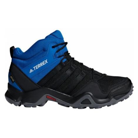 adidas TERREX AX2R MID GTX modrá - Pánska treková obuv