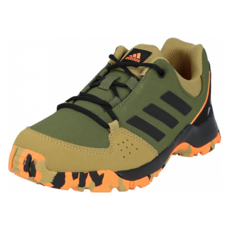 Zelená chlapčenské trekové a outdoorové topánky