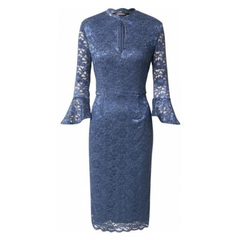 SWING Kokteilové šaty  indigo