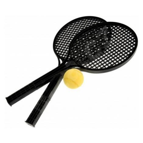 SPORT TEAM SOFT TENIS SET čierna - Sada na lenivý tenis