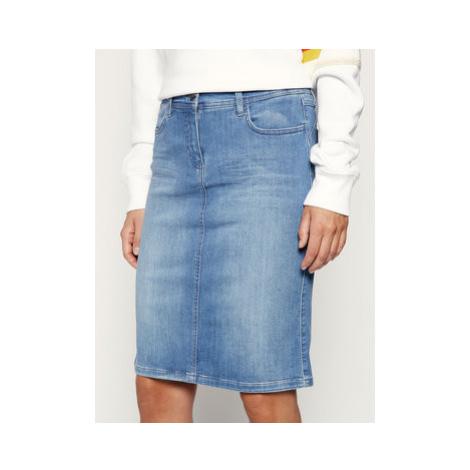 Laurèl Džínsová sukňa 71037 Modrá Regular Fit Laurel
