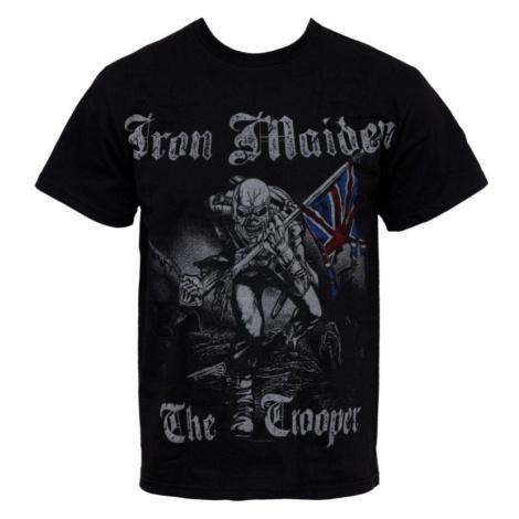 Tričko metal ROCK OFF Iron Maiden Sketched Trooper Čierna
