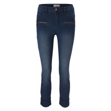 heine Džínsy 'Bauchweg-Jeans'  modrá denim