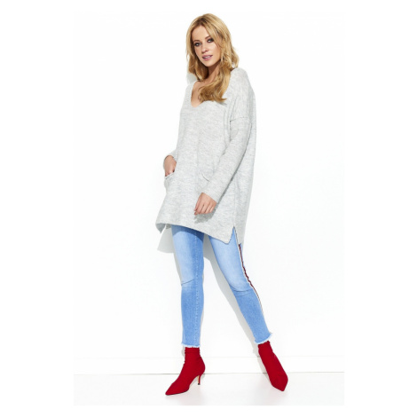 Makadamia Woman's Sweater MAKs68 Melange