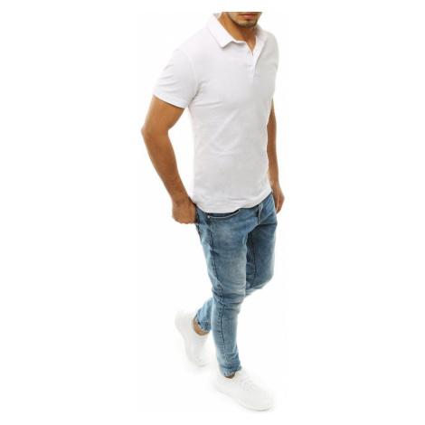 Men's white polo shirt PX0306 DStreet