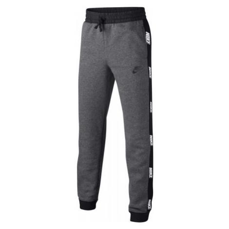 Nike NSW HYBRID PANT B šedá - Chlapčenské tepláky