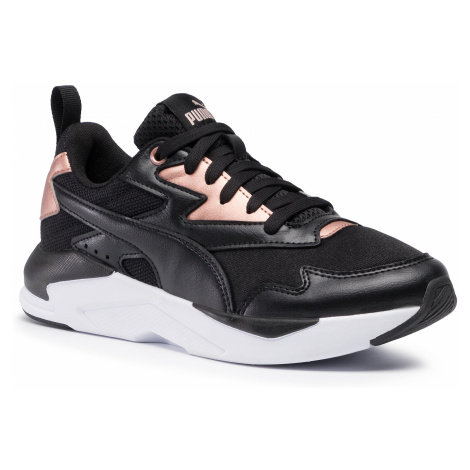 Sneakersy PUMA - X-Ray Lite Wmn's Metallic 374737 01 Puma Black/Black/Rose Gold