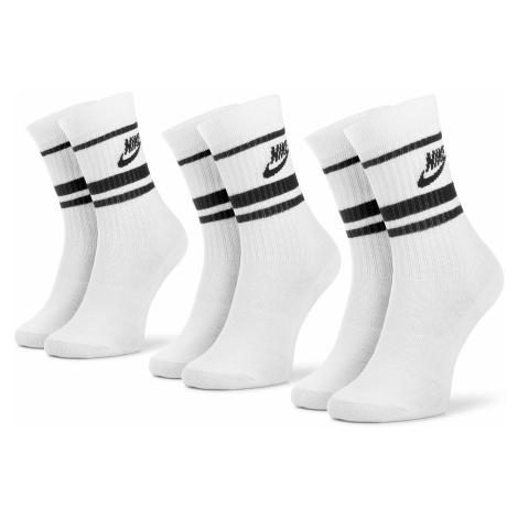 Súprava 3 párov vysokých ponožiek unisex NIKE