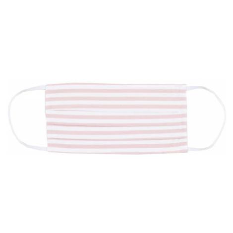 Mey Látkové rúško  biela / ružová