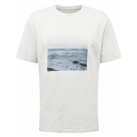 ARMEDANGELS Tričko ' Aado Beachtimes '  biela / zmiešané farby
