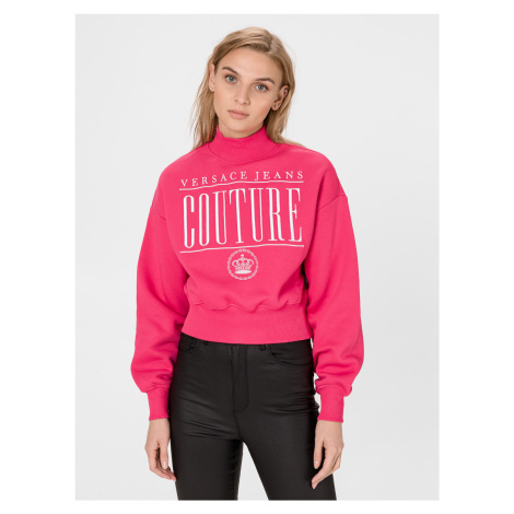 Mikina Versace Jeans Couture Růžová