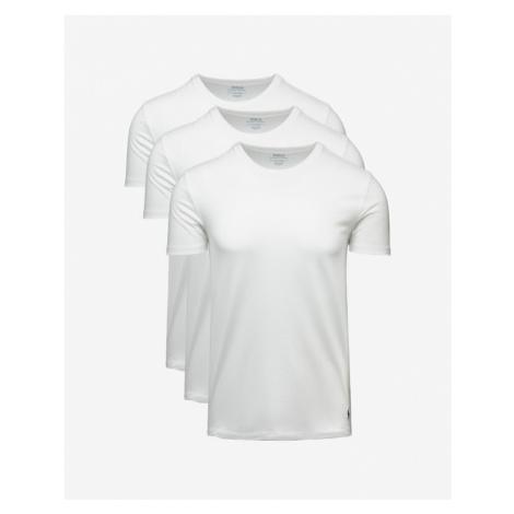 Polo Ralph Lauren Spodné tričko 3 ks Biela