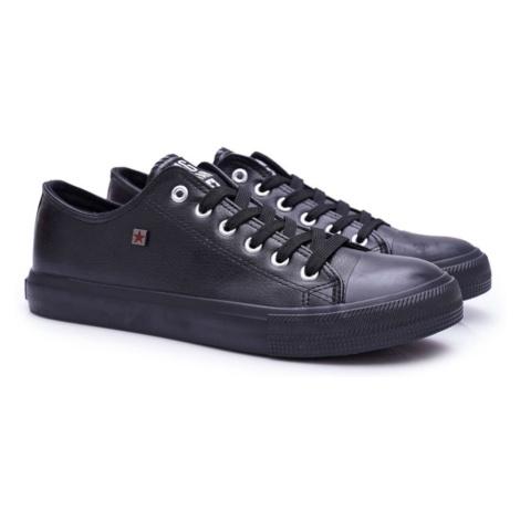 Men's Sneakers Low Big Star Black V174345