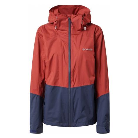COLUMBIA Outdoorová bunda 'Windgates'  modrá / červená